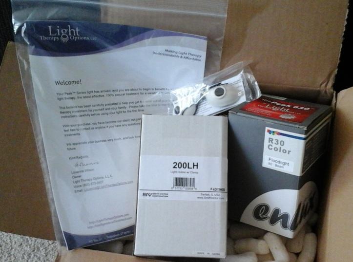 Peak 630™ Red LED Light Therapy Set
