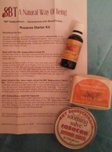 sbt seabuckthorn rosacea treatment kit