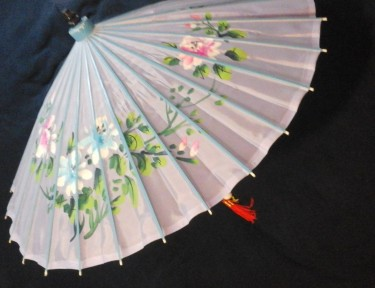 Sun protection parasol Rosacea