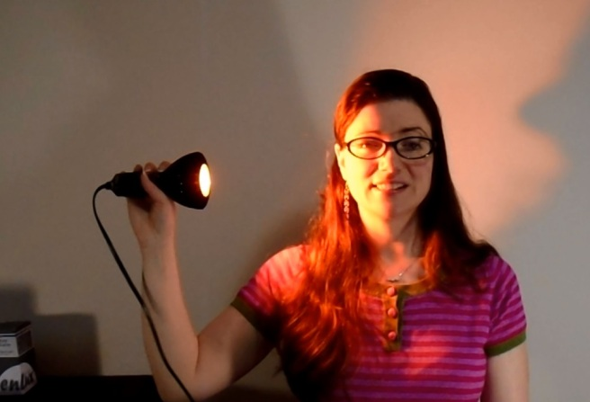 rosacea light therapy prototype