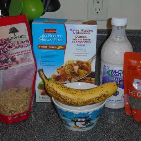 Rosacea Diet - Breakfast Ingredients