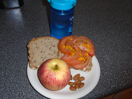 Rosacea Diet - Lunch Prepared
