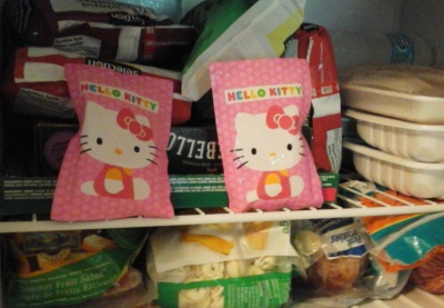 Hello Kitty Boo-Boo Pack gel ice packs