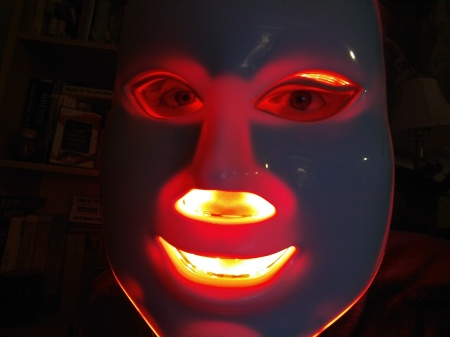 LED light therapy Mask for rosacea | Rosy JulieBC