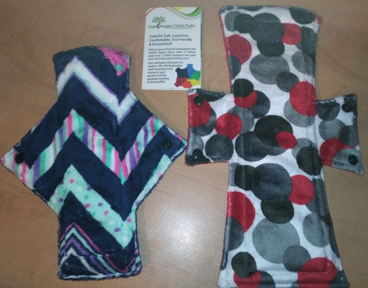 Tree Hugger Minky Heavy Day Pad and Night/Postpartum Pad