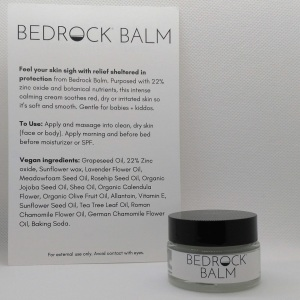 Bedrock Balm Zinc Oxide for Rosacea